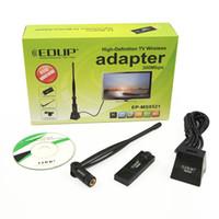 achat en gros de antennes de télévision sans fil-Nouveau EDUP EP-MS8521 300M Carte TV sans fil haute définition avec antenne pour PC HDTV IPTV