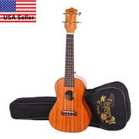 Wholesale 21 quot Sapele Wood Soprano String Ukulele Musical Instrument Guitar