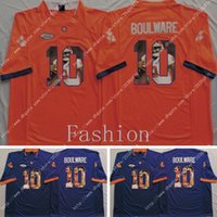 ben fashion - NWT Clemson Tigers Ben Boulware Fashion Photocopy America College Alumni Football Jersey Men Jerseys Embroidery logos Stitched Mix Order