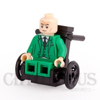 wheelchairs - Professor X With Wheelchair X MEN Minifigures Super Heroes The Avengers Assemble DIY Model Building Blocks Kids Toys Gift