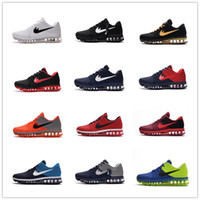 big leather boots - Cheap max Men running shoes Hot selling Original max KPU air cushion boots NM release sneakers Big size us13