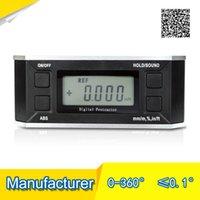 bevel protractors - degree Digital Inclinometer electronic protractor digital magnetic level bevel protractor inclinometer