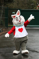 alice wonderland characters - new design Alice in Wonderland RABBIT MASCOT COSTUME adult cartoon character mascotte anime cosply costumes carnival fancy dress kits