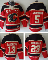 active mark - OLD TIME stitched men s hoody hoodies calgary mark giordano johnny gaudreau sean monahan pls read size chart before order