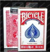 bicycle bridge cards - 100 ORIGINAL Bicycle bridge size Deck Playing Cards Best Poker New Bicycle Playing Card Magic Card Ellusionist