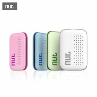 Wholesale Nut Mini Smart Tag Bluetooth Key Finder Locator Sensor Alarm Anti Lost Wallet Pet Child Locator Green White Pink Blue