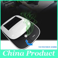 Wholesale Fashion Car air purifier oxygen bar car with a solar car in addition to formaldehyde anion smoke pm2 New