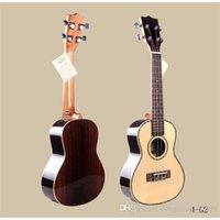 Wholesale 24 Inch Soprano Ukulele Guitar Musical Top Quality Rose Wood Spruce Full of Acacia Hawaii Fourth Ukulele String Guitar for Children