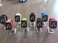 Wholesale 2016 Real Top Fashion Android Ios for Apple Support for Sim Card Calls Bluetooth Connection of Multi functional Smart Watches