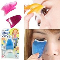 Wholesale Pro Eyelash Curler False Eyelash Clip Applicator Makeup Cosmetic Tool Kit K00018 OST