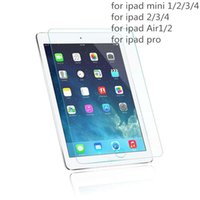 Wholesale 9H Tempered Glass MM Screen Protector for Ipad Pro Air Mini
