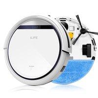 al por mayor vacuum auto robot-ILIFE Aspiradora robot inteligente para el hogar filtro HEPA, el sensor del acantilado, a distancia Auto Regulación de carga V3 V3 + ROBOT ASPIRADOR