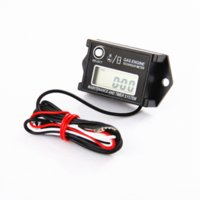 Wholesale IP68 waterproof resettable hour meter tachometer with recall max PRM function ip68 waterproof tachometer car