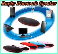 answer sound - Newest X6 Rugby Bluetooth Speaker Rugby Football Soccer Stereo Portable Music Wireless support answer calling and TF card For iPhone