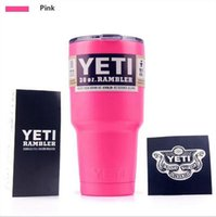 beer united states - Europe and the United States hot large capacity beer mug yeti car stainless steel insulation Cup Car Portable sports mug custom