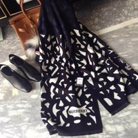 Wholesale CLASSICAL FASHION WOMAN LEOPARD WOOL SCARF