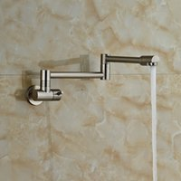 bathtub brush - Brushed Nickel Finished Bathtub Faucet Single Handle Mixer Tap Wall Mounted Only Cold Water