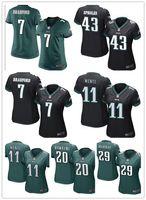 authentic football jerseys cheap - 2016 hot sale women Cunningham football Jerseys Philadelphia cheap Eagles jerseys elite authentic football shirt size S XL