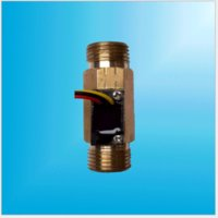Wholesale mm length Copper brass pulse signal water circulatory system flow Digital type sensor flowmeter meter MPa male G1 quot