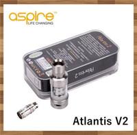 Cheap aspire atlantis 2 v2 tank atomizer clearomizer bvc coil coils e cig cigar electronic cigarette smoking k1 0.5ohm(10pc DHL)