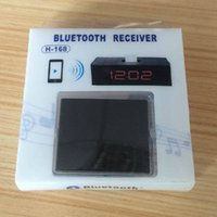Wholesale 500pcs Bluetooth Music Audio Adapter Pin Bluetooth Receiver for iPod Touch for iPhone to connect Dock Speaker play music