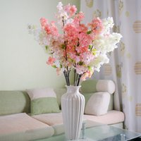 art silk yarn - Decorative Artificial Plants And Flowers Peony Home Flores Pompon Decor Yarn Art Stamen Plastic Artificial Flowers Wreath QQC140