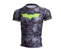 batman gotham knight - Cody Lundin Men Sayings Slogans Marvel Gotham knights Batman Logo T Shirts Bodybuilding Compression Tights Camo T Shirt for Male