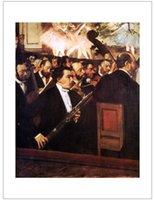 abstract figurative art - figurative art posters canvas painting mural prints giant poster home decor Edgar Degas l Orchestre de l Opéra Huile sur Toile Orchestra