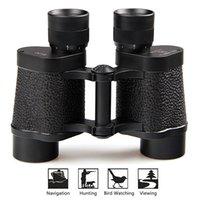COMET 8x30 completamente Multi-revestida HD ocular de enfoque Porro prismáticos militares óptico para el recorrido de aves de deporte que ven W2321A