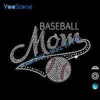 baseball mom t shirts - Fancy Transfer Baseball Mom Iron On Hot Fix Rhinestone Transfer Designs For DIY t Shirt