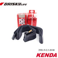 Livraison en gros-Free de haute qualité Brisky 29 pouces 29x1.9 2.3 Montagne tube de vélo 48mm Schrader valve vélo pneu tube intérieur