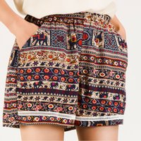 Wholesale 2016 Shorts Women Selling Loose Lace Casual Broadcloth New arrived Hot Sale Summer Women s Short woman Baggy Elastic Waist