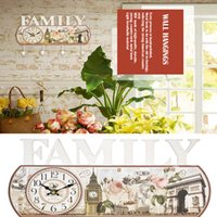 Wholesale Art Wall Decoration Wall Hanger Hooks Creative Pastoral Retro Do The Old Creative Arts Wall Decoration Retro personality Coat Hooks GJ33