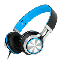Wholesale popular Sound Intone HD200 folding mobile phone music headphones