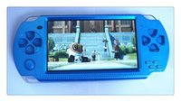 Wholesale DHL Portable Game Players inch color screen handheld console GB memory not for psp console for nes games TF card video music camera