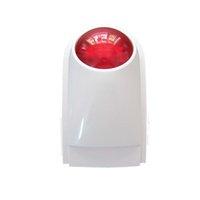 alarm transmission - DC V MHZ Wireless RFID transmission burglar outdoor steable home alarm system keypad compatible db strobe flashing Siren