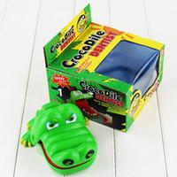 Wholesale Novelty Funny Toys cartoon Creative Shark bite the finger Trick toys For Boys Girls Children Kids gift EMS