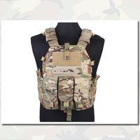 Wholesale Molle Pouch Type Tactical Vest K M4 Hunting Game Airsoft Emersongear Combat Vest Gear Genuine Multicam Fabric MC