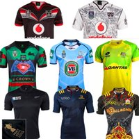 Wholesale DHL champion New Zealand super rugby jersey all black rugby shirt r Warriors wales highland emirates qzshirt