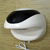 Wholesale ABS wall mounted w cute frog shape electronic hands dryer for theme restroom decoration hands care machine infants school facility
