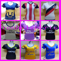 Wholesale Women Tigres UANL Jerseys Real Madrid Shirt America club Jersey rugby or more free to send DHL Chivas Guadalajara