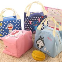 Wholesale Children Totoro Lunch Bag Aluminum Foil Hello Kitty Lunch Bag for Food Doraemon Thermal and Cooler Picnic Lunchbox HE41