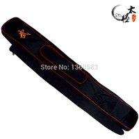 Wholesale Zipper tai chi sword set sword bags double layer Oxford Fabric Kendo Aikido sword bag cm long have stick bag