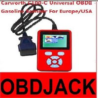 asia c - 2016 Newest Carworth C100 C Universal OBDII OBD2 Gasoline Scanner For Europe USA Asia Car Models CAN BUS DHL Free Ship