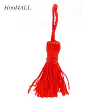 Wholesale Hoomall Red Silky Tassels Polyester Sewing Accessories cm quot quot