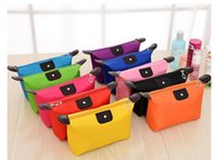 Wholesale Hot Selling Colors High Quality Women s Makeup Bags Cosmetic Bag Clutch Hanging Toiletries Travel Kit Jewelry Organizer Casual Purse