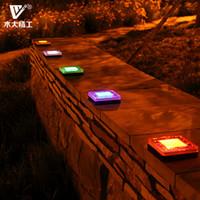 Wholesale Buried lights solar garden lights square tiles road lamp