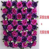 big flower arrangements - 10pcs oversized silk rose floral arrangements wedding flower arches big row Pillar large flower style package