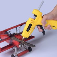 hot melt glue stick machine - Professional Hot Melt Glue Gun with Glue Sticks Heating Craft Repair Tool Power for V W W