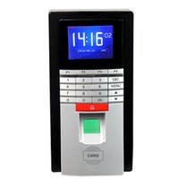 access displays - Biometric Fingerprint Time Clock Recorder ID Card Attendance Access Control Integrated Machine inch TFT HD Screen Display F6157D